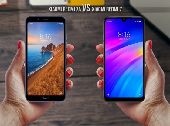 Xiaomi Redmi 7 and Xiaomi Redmi 7a
